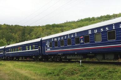 Transiberiano de lujo Moscú- Vladivostok: Transiberiano: Tren Rusia Imperial<